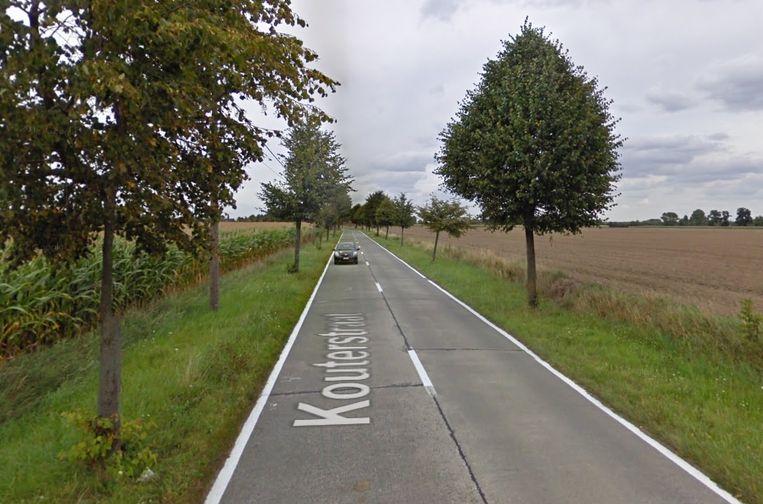 De Kouterstraat in Nevele.