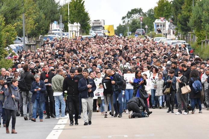 Marche blanche pour Bunyamin Arslan