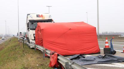 Trucker wordt onwel en overlijdt op pechstrook