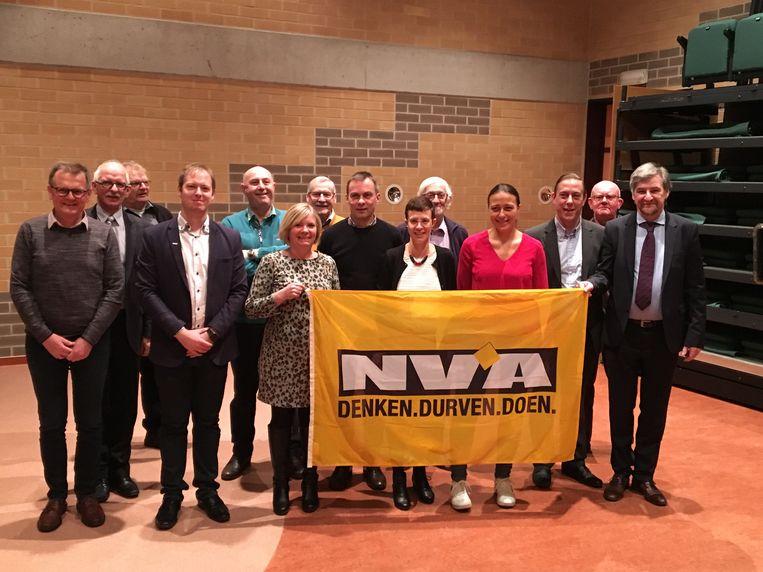 Nieuw bestuur N-VA De Haan-Wenduine