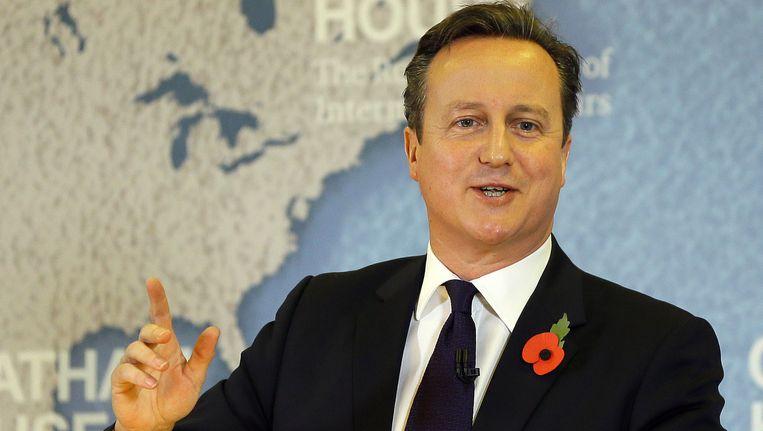 David Cameron. Beeld getty
