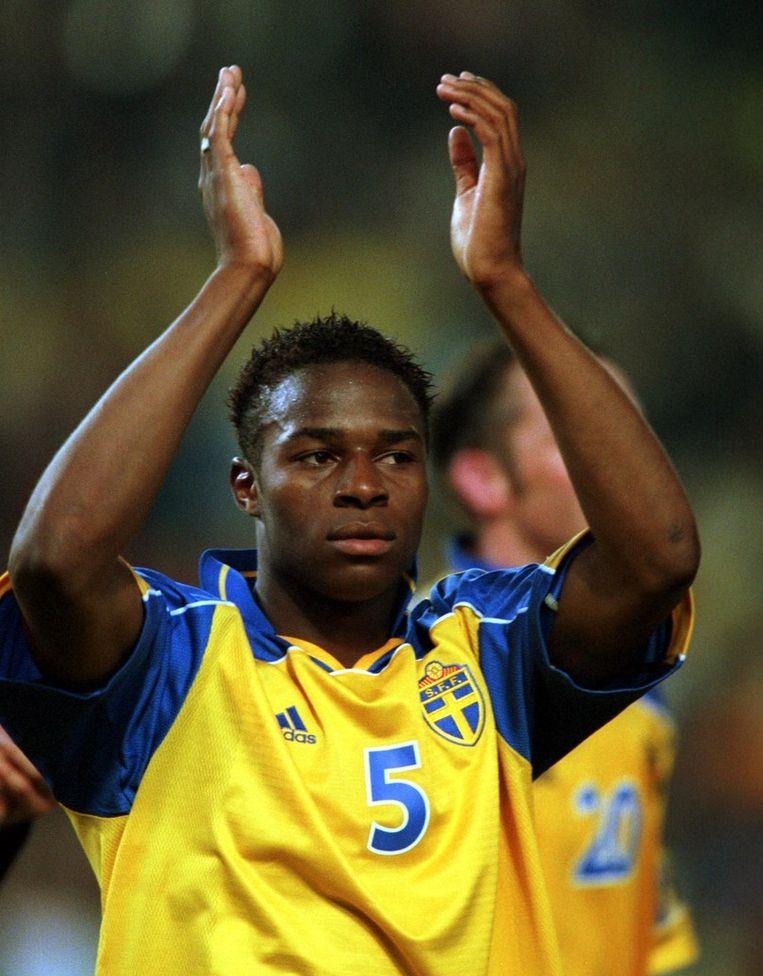 Emile Mpenza vond eveneens de weg naar het doel.