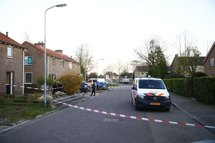 Steekpartij aan de Roggeweg in Heerde.