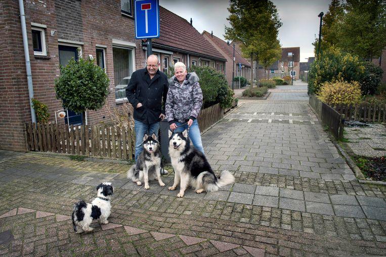 Bertus van der Pot: 'De gemeente had hier eerder iets aan kunnen doen. Dit is hun eigen schuld.' Beeld Werry Crone