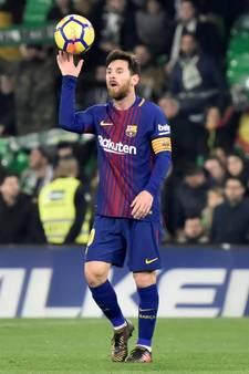 FC Barcelona dendert door met ruime zege op Real Betis