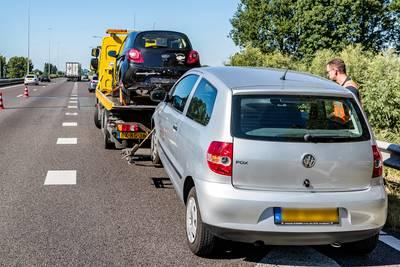 Linkerrijstrook dicht op A27 door ongeluk, vanaf Breda kwartier vertraging