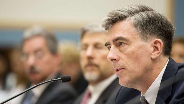 Plaatsvervangende NSA-directeur John Inglis legde ook een verklaring af bij het Amerikaanse Federale Justitiecomité Beeld ANP