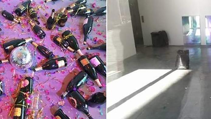 Italiaanse schoonmakers zagen het kunstwerk aan voor afval en gooiden het weg.