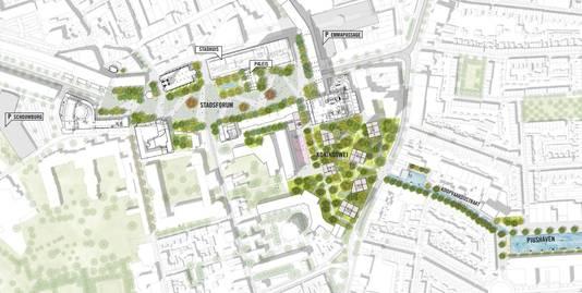 e28df0dd078 College Tilburg zet licht op groen voor plan Koningsplein en ...
