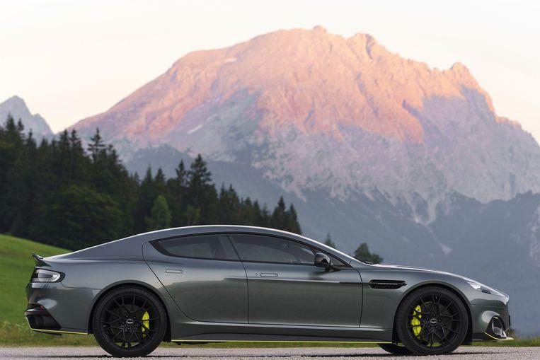 De Aston Martin Rapide vormt de basis voor de volledig elektrische Rapid E die eind dit jaar wordt uitgebracht