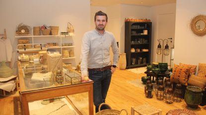 Renaat (32) deelt passie voor unieke ambachtelijke (Marokkaanse) producten in Quartier Artisanal