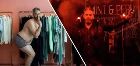 'Rauwe lauwe shit': Tilburgse winkelier maakt dank-rap na coronasluiting