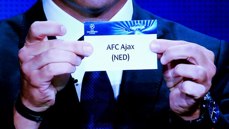 Ajax in de Champions League Beeld anp