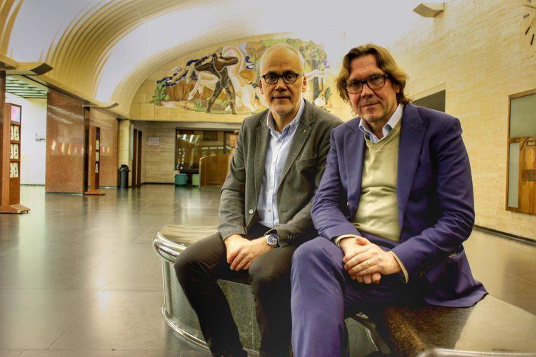 Bart Plasschaert en Stefan Tanghe in De Grote Post