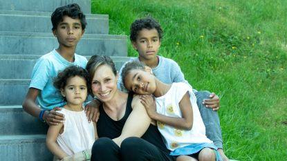 """Kim Gevaert probeert haar kinderen te wapenen tegen racisme: """"We willen dat ze trots zijn op hun roots"""""""
