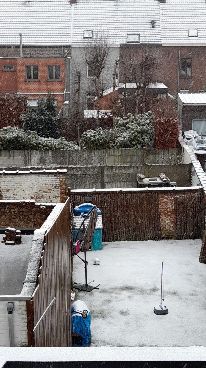 Ook lezer Kevin Daphne stuurde een winters beeld door.
