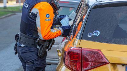 22 agenten houden verkeerscontrole langs Ninoofsesteenweg