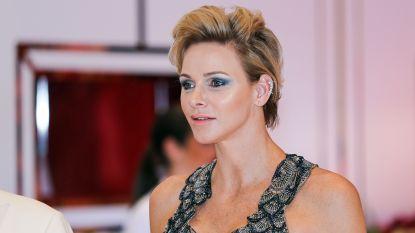 Stralende prinses Charlene van Monaco doet alle hoofden draaien