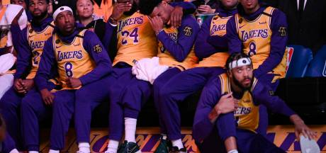 Les images du superbe hommage des Lakers à Kobe Bryant