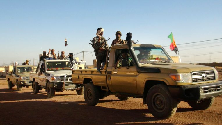 Malinese rebellen in de noordoostelijke stad Kidal Beeld REUTERS