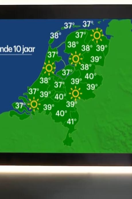 'Over 10 jaar wordt het ruim 40 graden in de regio Eindhoven'