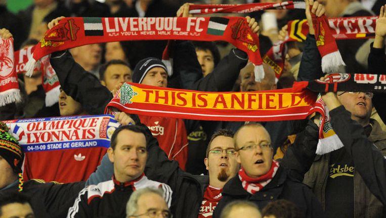De bouw van een nieuw Anfield is afgeblazen, hoewel Liverpool de inkomsten van 15.000 supporters extra goed kan gebruiken. Foto EPA Beeld