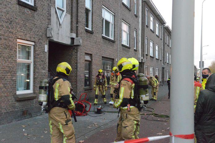Brand in een woning aan de Zuiderparklaan.
