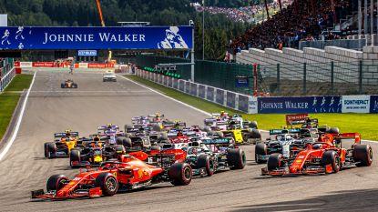 Francorchamps zou niet op nieuwe F1-kalender staan, al brengt Monza mogelijk redding