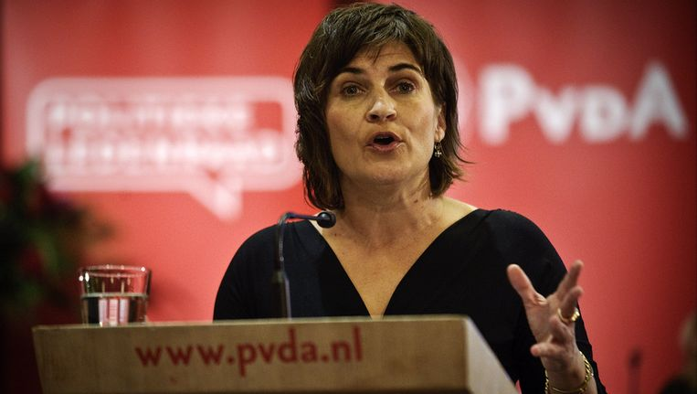 © ANP PvdA-voorzitter Lilianne Ploumen Beeld