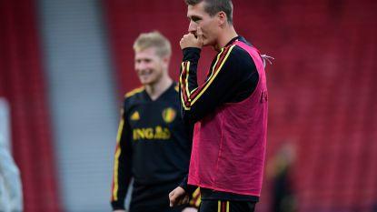 """Ook tegen Schotland geen speeltijd voor Hans Vanaken: """"Vreemd dat Raman de voorkeur kreeg"""""""