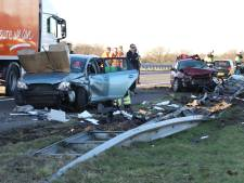 Roemeense trucker (60) vrijgelaten na dodelijk ongeluk A50 bij Nistelrode, zwaargewonde uit Radboudumc