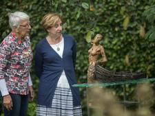 Ondanks wisselvallig weer toch belangstelling voor Kunstroute Warande in Helmond