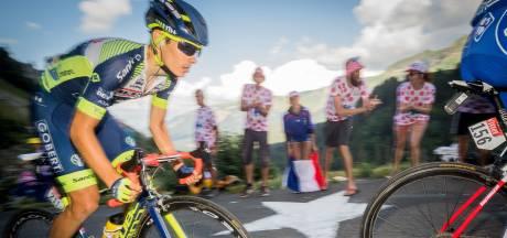 Martin reed al elf etappes met gebroken rib