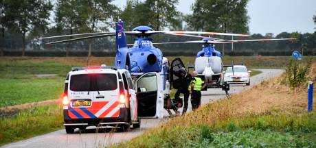 Politiehelikopter met panne bij Westdorpe krijgt hulp van broer