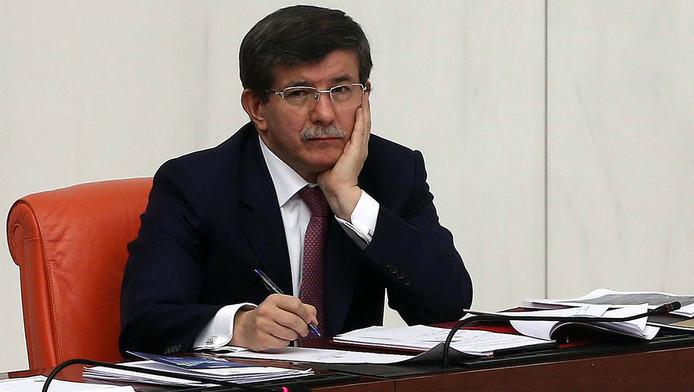 Le ministre turc des Affaires étrangères Ahmet Davutoglu