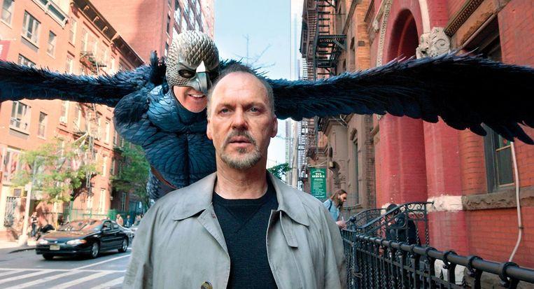 Michael Keaton in Birdman. Beeld