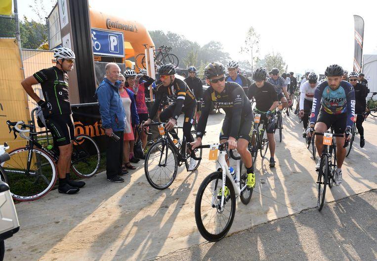 Sven Nys reed gisteren 107 kilometer.