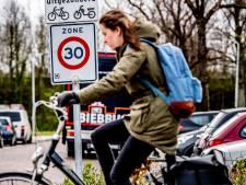'Vooral voor fietsers wordt het veiliger met dertig op de teller'