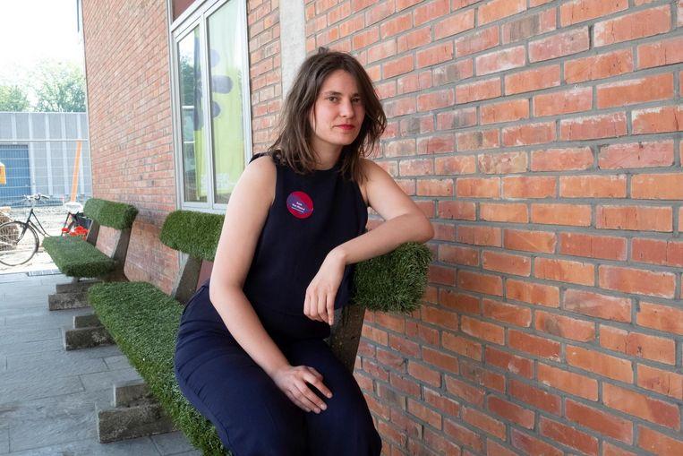 Sien Vanmaele(27) speelt 'Witlof from Syria'.
