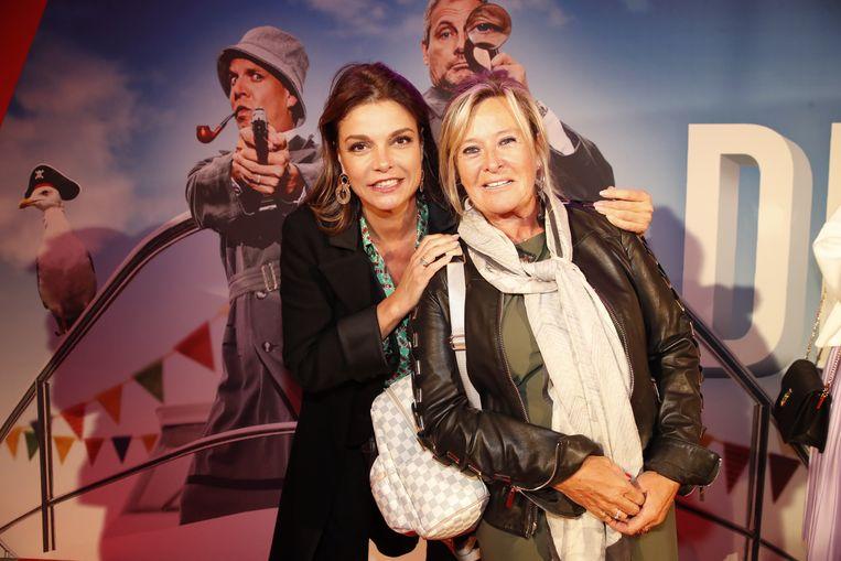 Goedele Liekens zakte met een vriendin naar de première af.