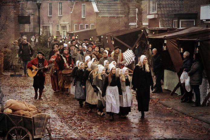 Het Historisch Schouwspel is de publiekstrekker van Den Ham. Het brinkdorp is er dus veel aan gelegen dat mensen het evenementen goed kunnen bereiken.