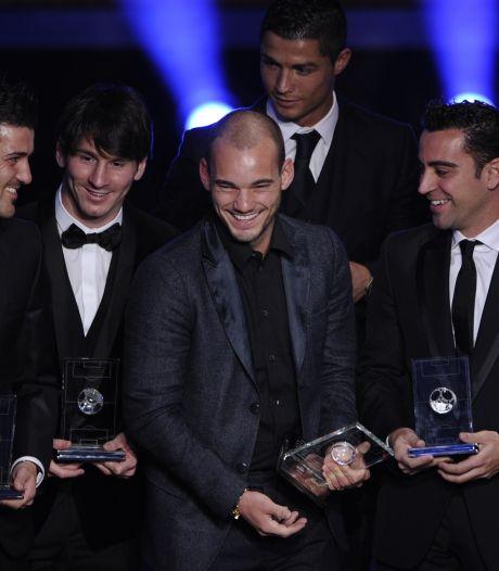 Sneijder: Ik had in het rijtje met Ronaldo en Messi kunnen staan