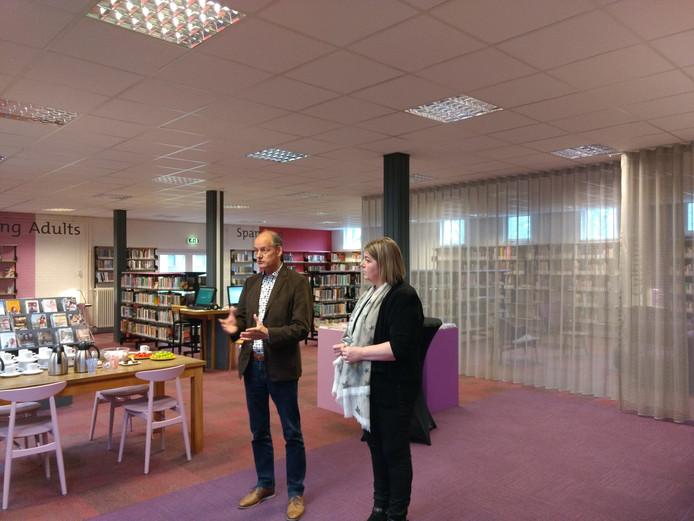 Directeur Ruud Hakvoort en wethouder Janine Spoor