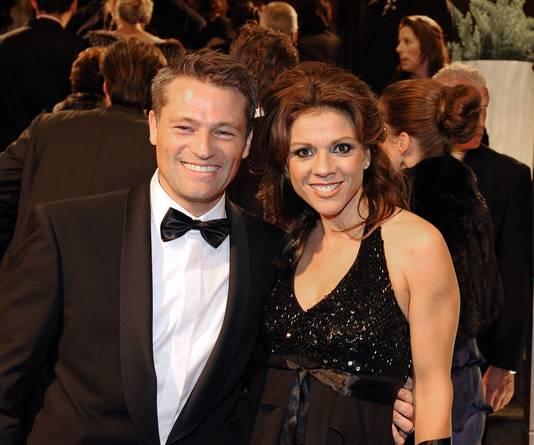 Van Moorsel en haar man Michael Zijlaard.