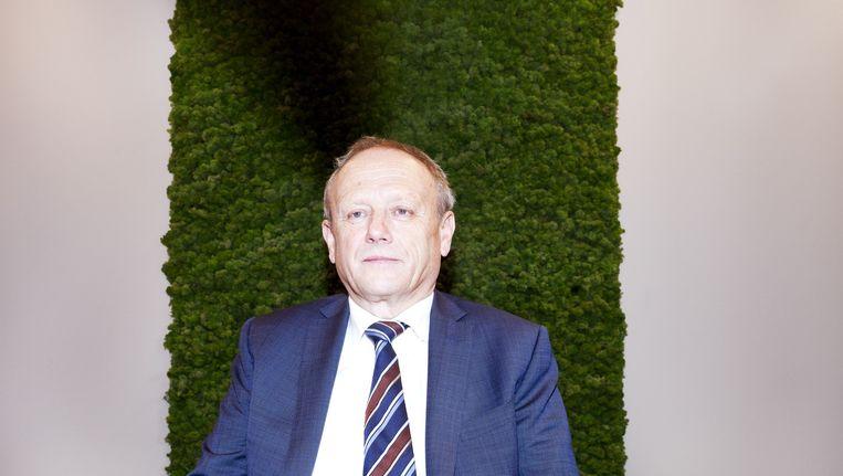 Burgemeester Boelhouwer van Gilze en Rijzen. Beeld null