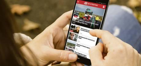 In deze tijd zien lezers het voordeel van de Stentor app: Snel op de hoogte zijn wat er speelt