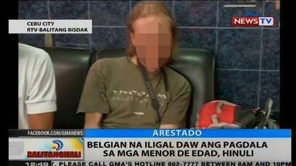 Opgepakte Antwerpenaar schreeuwt onschuld uit op Filipijnse tv