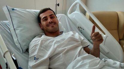 Iker Casillas na hartaanval op training afgevoerd naar ziekenhuis, Spaanse doelman buiten levensgevaar