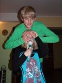 Emil met zijn zusje Amelia