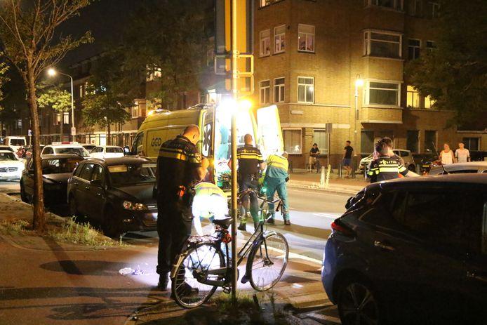 Het ongeluk gebeurde op de Soestdijksekade.